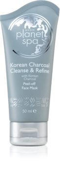 Avon Planet Spa Korean Charcoal Cleanse & Refine mascarilla peel-off con carbón activo