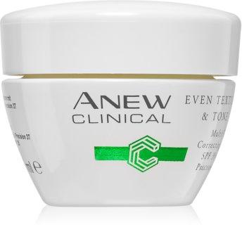 Avon Anew Clinical hydraterende dagcrème om voor effening van de teint SPF 35