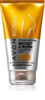 Avon Works loção corporal para emagrecimento e anti-celulite