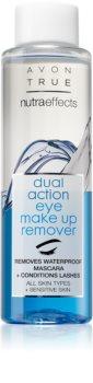 Avon Nutra Effects Dual Action dvofazni odstranjevalec ličil za okoli oči