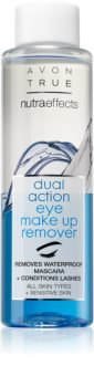 Avon Nutra Effects Dual Action Twee-Fasen Oog Make-up Remover