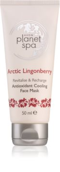 Avon Planet Spa Arctic Lingonberry antyoksydacyjna maseczka chłodząca do twarzy