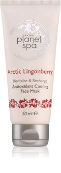 Avon Planet Spa Arctic Lingonberry kühlende Detox-Gesichtsmaske
