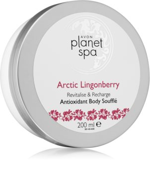 Avon Planet Spa Arctic Lingonberry суфле для тела