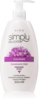 Avon Simply Delicate upokojujúci gél na intímnu hygienu