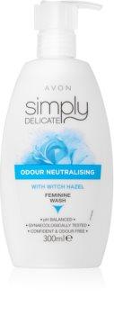 Avon Simply Delicate gel rafraîchissant hygiène intime