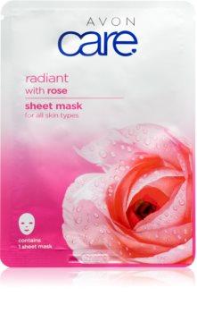 Avon Care maschera in tessuto per tutti i tipi di pelle
