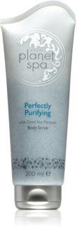 Avon Planet Spa Perfectly Purifying exfoliant pentru corp cu minerale de la Marea Moarta