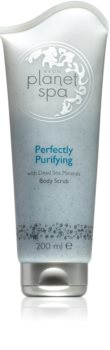 Avon Planet Spa Perfectly Purifying Scrub σώματος με μεταλλικά στοιχεία απο τη Νεκρά θάλασσα