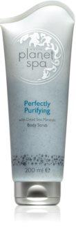 Avon Planet Spa Perfectly Purifying tělový peeling s minerály z Mrtvého moře