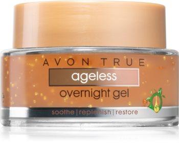 Avon True cremă de tip gel, cu efect regenerator pentru noapte