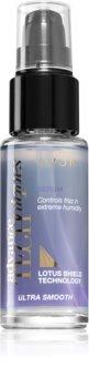 Avon Advance Techniques Ultra Smooth uhlazující sérum pro nepoddajné a krepatějící se vlasy
