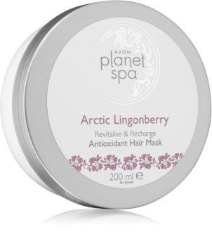 Avon Planet Spa Arctic Lingonberry feuchtigkeitsspendende Maske für die Haare