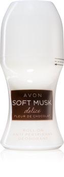 Avon Soft Musk Delice Fleur De Chocolat desodorizante roll-on
