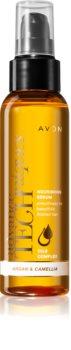 Avon Advance Techniques Ultra Smooth intensywnie odżywiające serum z luksusowymi olejkami