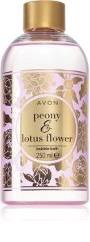 Avon Bubble Bath Peony & Lotus Flower umývacia pena s vôňou kvetín