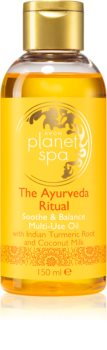 Avon Planet Spa The Ayurveda Ritual huile apaisante corps et cheveux