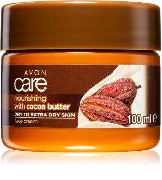 Avon Care питательный крем с маслом какао