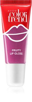 Avon Color Trend Fruity Lips Maustettu Huulikiilto