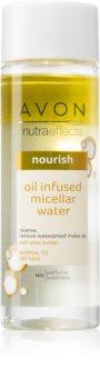 Avon Nutra Effects Nourish Zwei-Phasen Mizellenwasserr  für normale und trockene Haut