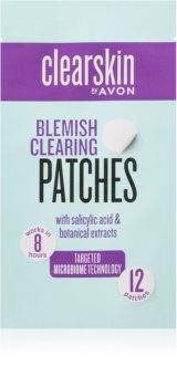 Avon Clearskin  Blemish Clearing náplasti na problematickou pleť proti akné