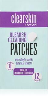 Avon Clearskin  Blemish Clearing plastry dla skóry problematycznej przeciw trądzikowi