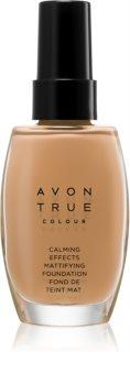 Avon True Colour Kalmerende Foundation  voor Matte Uitstraling