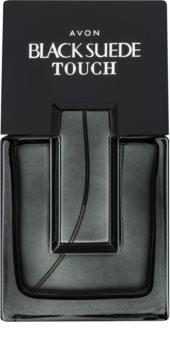 Avon Black Suede Touch Eau de Toilette για άντρες
