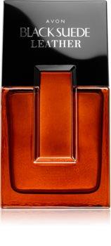 Avon Black Suede Leather Eau de Toilette für Herren