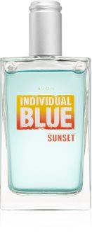 Avon Individual Blue Sunset Eau de Toilette για άντρες