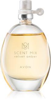 Avon Scent Mix Velvet Amber Eau de Toilette pentru femei
