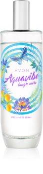 Avon Aquavibe Laugh More tělový sprej pro ženy