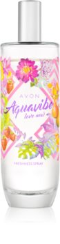 Avon Aquavibe Love Now testápoló spray hölgyeknek