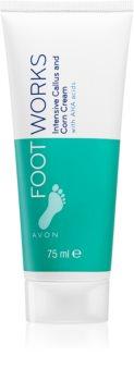 Avon Foot Works Healthy інтенсивний пом'якшувальний крем для ніг