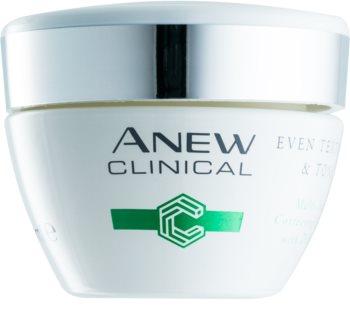 Avon Anew Clinical nočna krema za poenotenje tona kože