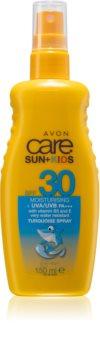 Avon Care Sun + Kids opaľovací sprej pre deti SPF 30