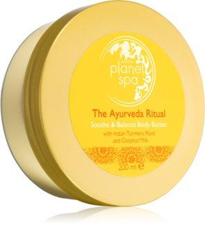 Avon Planet Spa The Ayurveda Ritual burro corpo nutriente e idratante