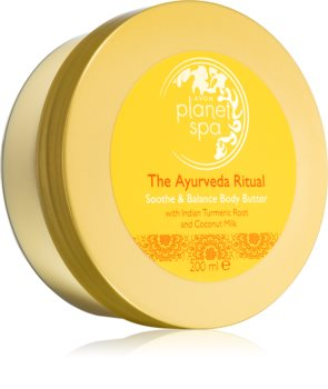 Avon Planet Spa The Ayurveda Ritual manteiga corporal  nutrição e hidratação