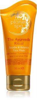 Avon Planet Spa The Ayurveda Ritual łagodząca maseczka do twarzy