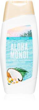 Avon Senses Aloha Monoi krémový sprchový gel
