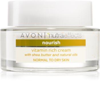 Avon Nutra Effects Nourish vyživující krém s bambuckým máslem