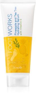 Avon Foot Works Pineapple and Tea Tree hidratáló szérum lábakra