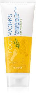 Avon Foot Works Pineapple and Tea Tree ser hidratant pentru picioare
