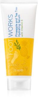 Avon Foot Works Pineapple and Tea Tree sérum hidratante para pernas