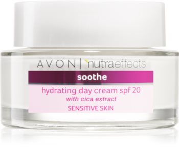 Avon Nutra Effects Soothe хидратиращ дневен крем SPF 20