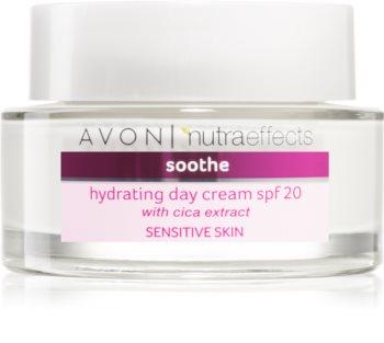 Avon Nutra Effects Soothe vlažilna dnevna krema SPF 20