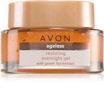 Avon Ageless възстановяваща нощна грижа с екстракт от зелен чай