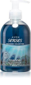 Avon Senses Freshness Collection Marine sabonete líquido delicado para mãos