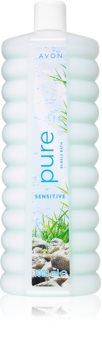 Avon Bubble Bath Sensitive Pure schiuma rilassante per il bagno per pelli sensibili
