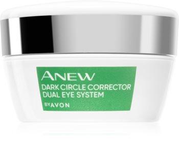 Avon Anew Dual Eye System soin yeux réparateur double action anti-cernes noirs